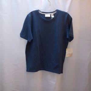 Liz Claiborne Liz & Co Short Sleeve Tee Style Top